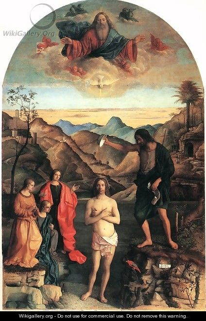 Baptism of Christ 2 - Giovanni Bellini