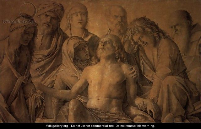The Lamentation over the Body of Christ - Giovanni Bellini