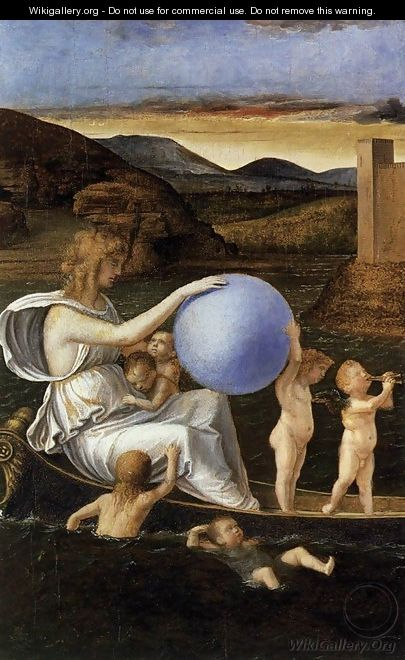 Four Allegories Fortune (or Melancholy) - Giovanni Bellini