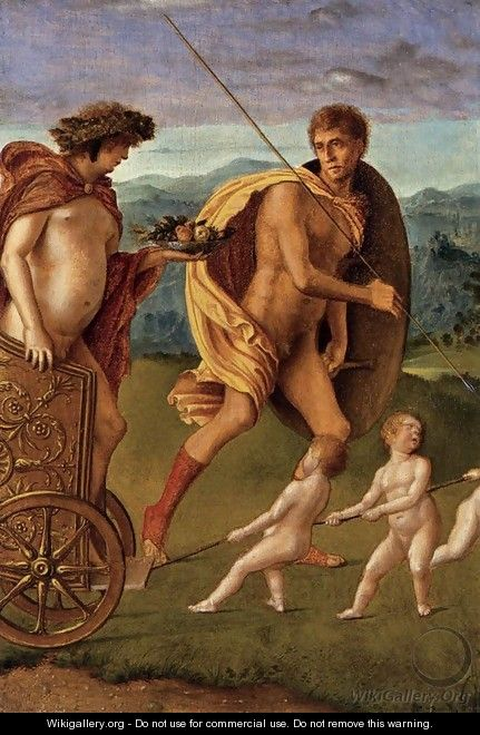 Four Allegories Lust (or Perseverance) - Giovanni Bellini