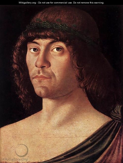 Portrait of a Humanist - Giovanni Bellini