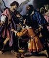 The Archangel Raphael Refusing Tobias's Gift - Giovanni Bilivert