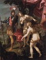 The Temptation of Charles and Ubalde - Giovanni Bilivert