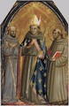 Sts Francis of Assisi, Louis of Toulouse and Anthony of Padua - Bicci Di Lorenzo