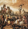 Christ on the Cross - Joachim Beuckelaer