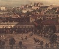 View of Warsaw from the Royal Palace (detail) 2 - Bernardo Bellotto (Canaletto)