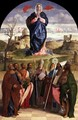 Virgin in Glory with Saints - Giovanni Bellini