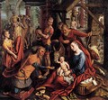 Triptych with the Adoration of the Magi (central panel) - Pieter Aertsen