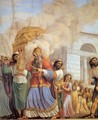 Transportation of the Ark of the Covenant Containing the Tablets of the Law - Luigi Ademollo