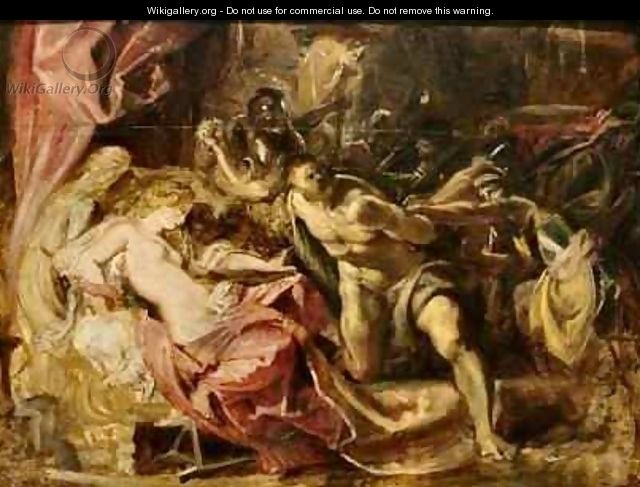 The Capture of Samson - Peter Paul Rubens