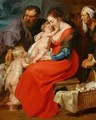The Holy Family - Peter Paul Rubens