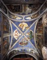 View of the chapel vaulting - Angelico Fra