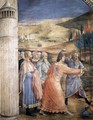 The Stoning of St Stephen (detail) - Angelico Fra