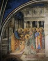 St Peter Consacrates Stephen as Deacon - Angelico Fra