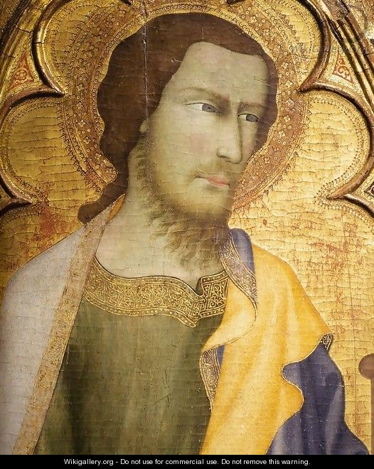 St James the Greater (detail) - di Vanni d
