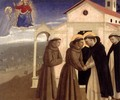 Meeting of St Francis and St Dominic - Angelico Fra