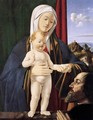Madonna and Child with a Donor - Marco Basaiti