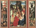 Three Kings Altarpiece (open) - Hans Baldung Grien