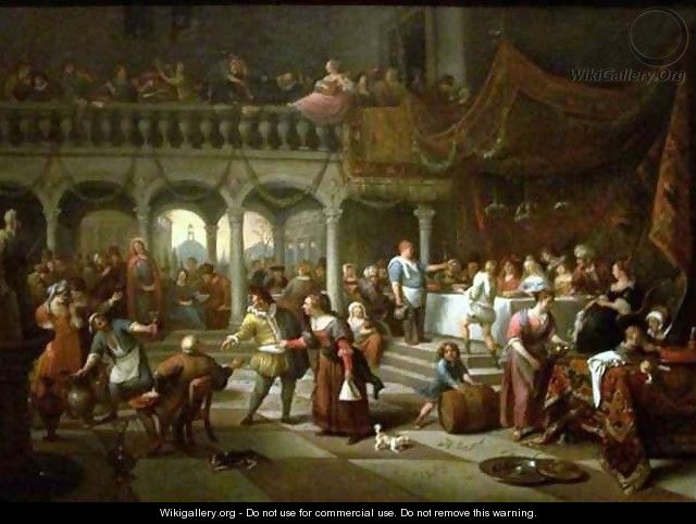 Marriage at Cana - Jan Steen