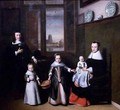 Interior with a Dordrecht Family 2 - Nicolaes Maes