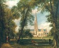 Salisbury Cathedral from the Bishops Grounds - John Constable