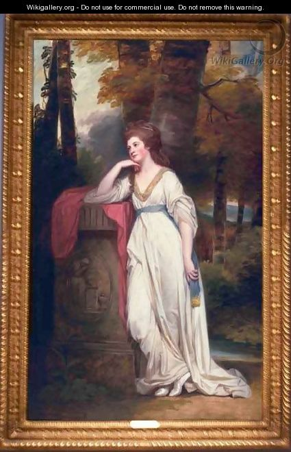 Mary Lady Beauchamp Proctor - George Romney
