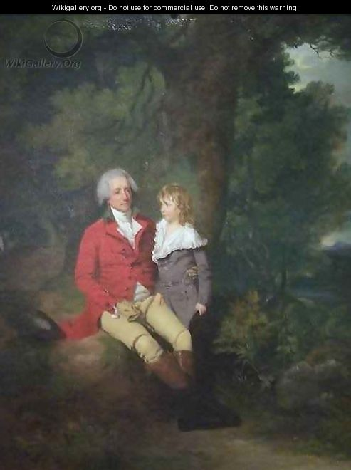 Ralph Winstanley Wood and His Son Wm Warren Wood - Francis Wheatley