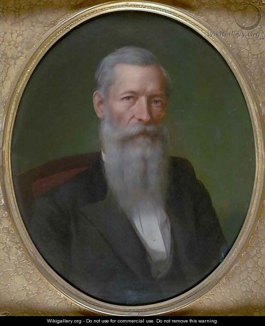 Portrait of Mark Hopkins - Stephen William Shaw