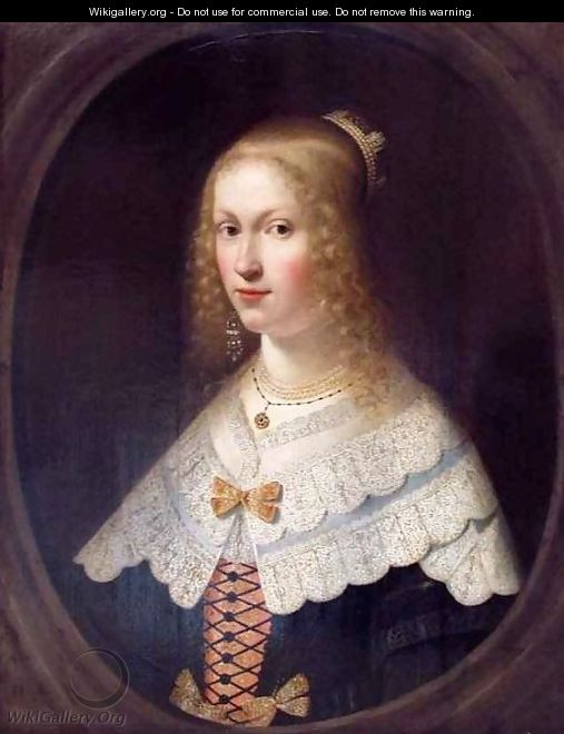 Portrait of a Lady - Hendrick Coster