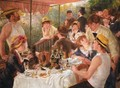 Luncheon of the Boating Party 2 - Pierre Auguste Renoir