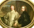 Self Portrait with Sir Endymion Porter - Francisco De Goya y Lucientes