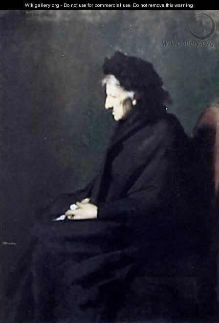 Mme Sraphin Henner - Jean-Jacques Henner