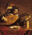 The Lute Player - Theodoor Rombouts