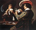 The Card Players 4 - Theodoor Rombouts