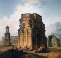 The Arc de Triomphe and the Theatre of Orange - Hubert Robert