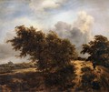 The Thicket (Path in the Haarlem Dunes) - Jacob Van Ruisdael
