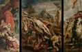 Raising of the Cross - Peter Paul Rubens