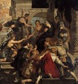 The Apotheosis of Henry IV and the Proclamation of the Regency of Marie de Medic - Peter Paul Rubens