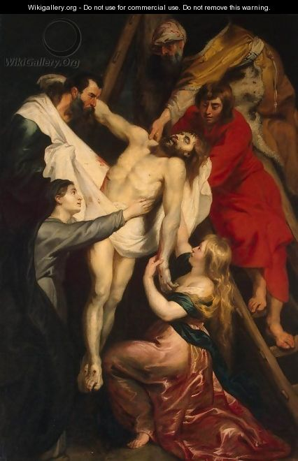 Descent from the Cross 3 - Peter Paul Rubens