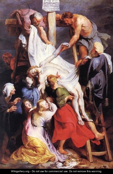 Descent from the Cross 2 - Peter Paul Rubens