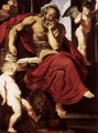 St Jerome in His Hermitage - Peter Paul Rubens