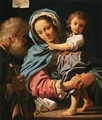 The Holy Family - Bartolomeo Schedoni