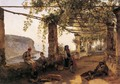 Terrace at Sorrento - Silvestr Fedosievich Shchedrin