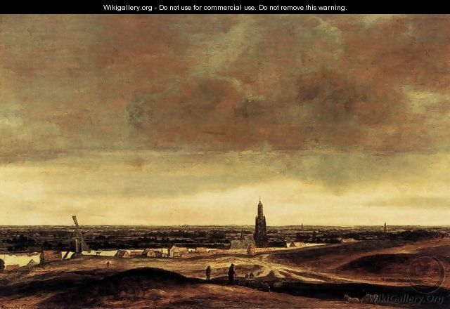 View of Rhenen - Hercules Seghers