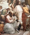 The School of Athens (detail) 3 - Raffaelo Sanzio