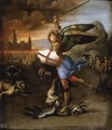 St Michael and the Dragon 2 - Raffaelo Sanzio