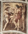 Apollo and Marsyas (ceiling panel) - Raffaelo Sanzio