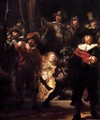 The Nightwatch (detail) 3 - Rembrandt Van Rijn
