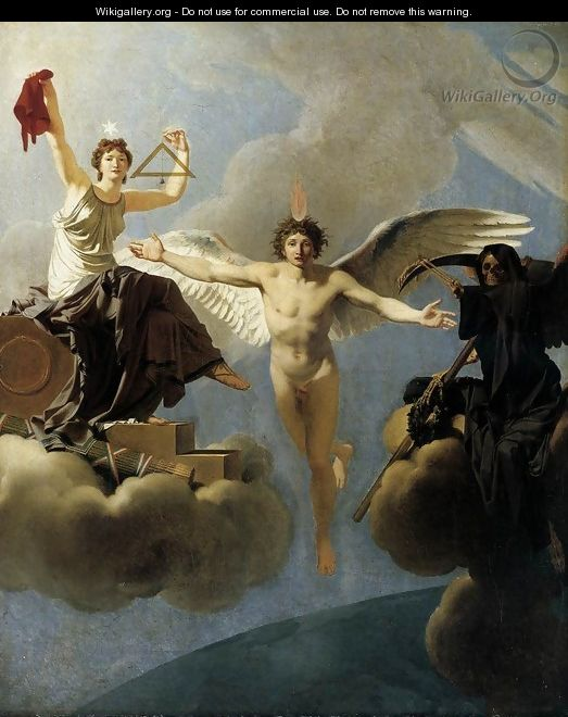 The Genius of France between Liberty and Death - Regnault Henri