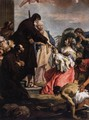 St Francis of Paola Resuscitating a Dead Child - Sebastiano Ricci